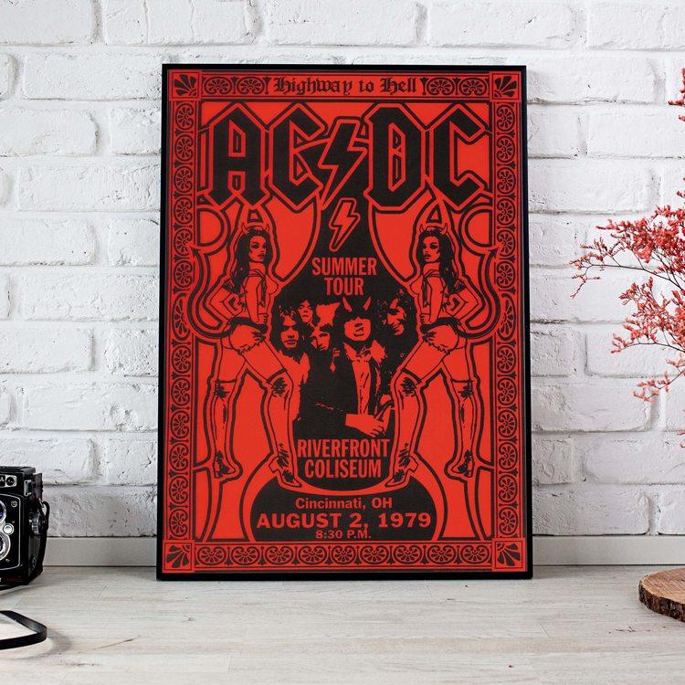 [HD]Постер AC/DC - Tour