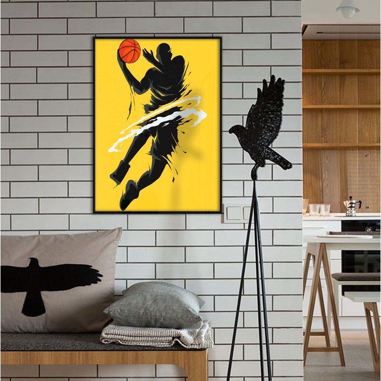 [HD] Постер Баскетболист - Арт