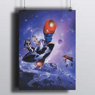 [HD] Постер Червяк Джимм В Космосе