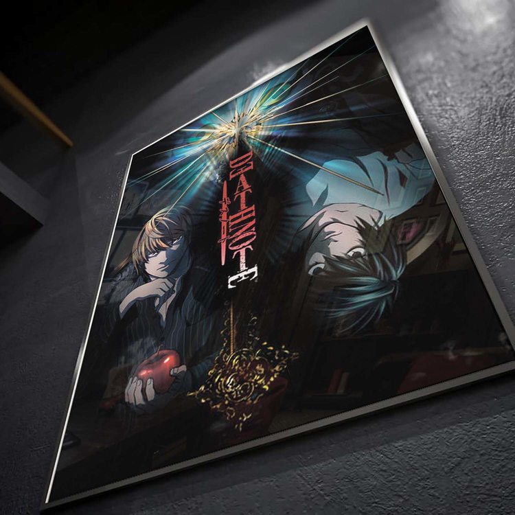 Постер Тетрадь смерти - Л и Лайт