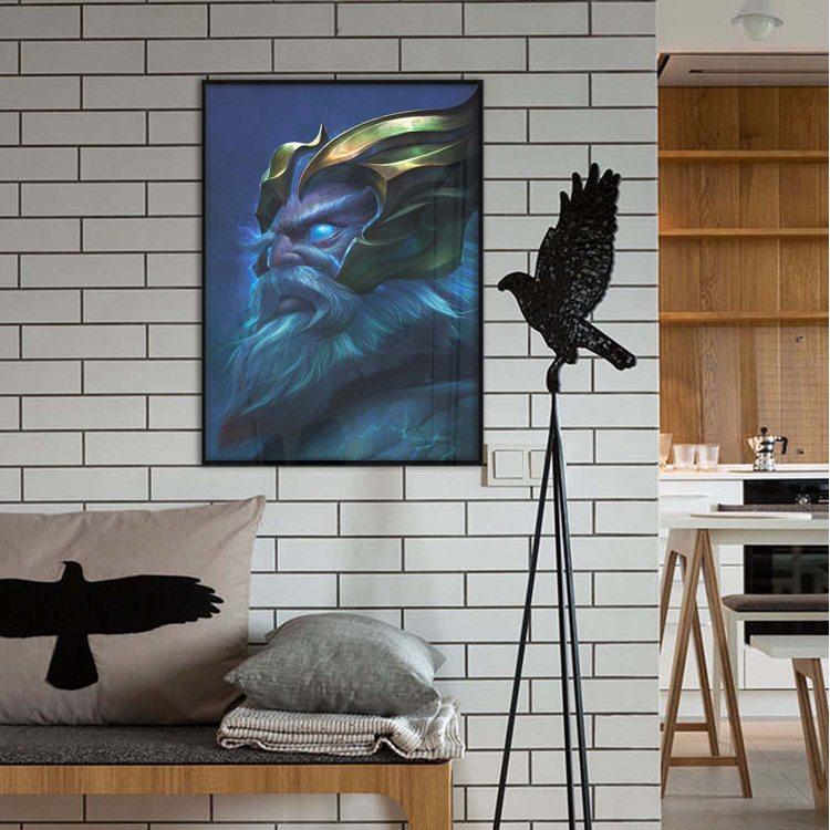 [HD] Постер Dota 2 - Zeus