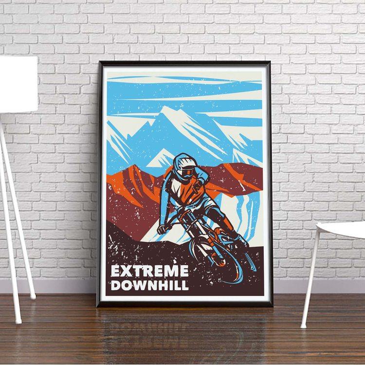 [HD] Постер Экстремальный Спуск