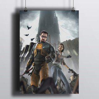 Постер Half-life