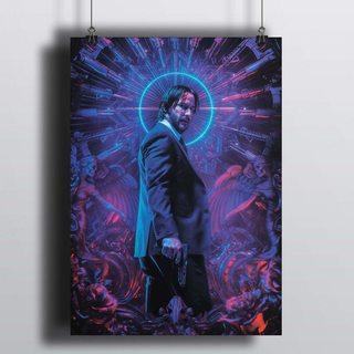 [HD] Постер Джон Уик - Неон