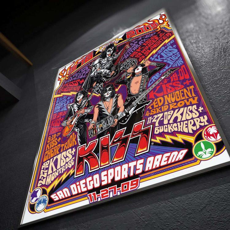 [HD]Постер Kiss