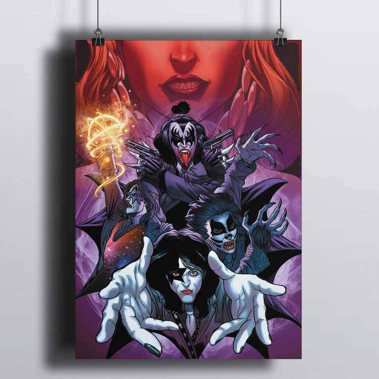 [HD]Постер Kiss - Арт