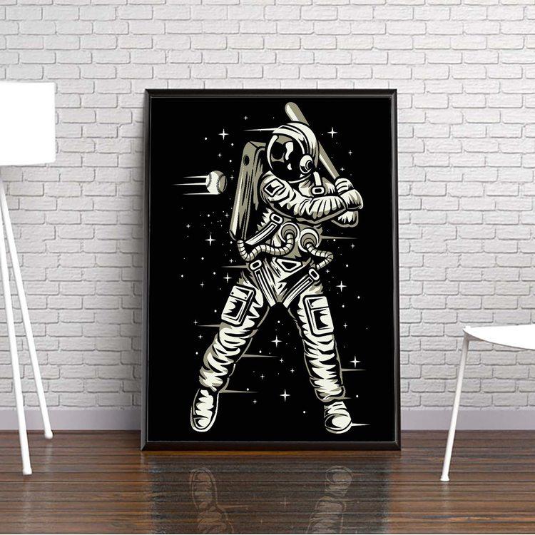 [HD] Постер Космический Бейсбол