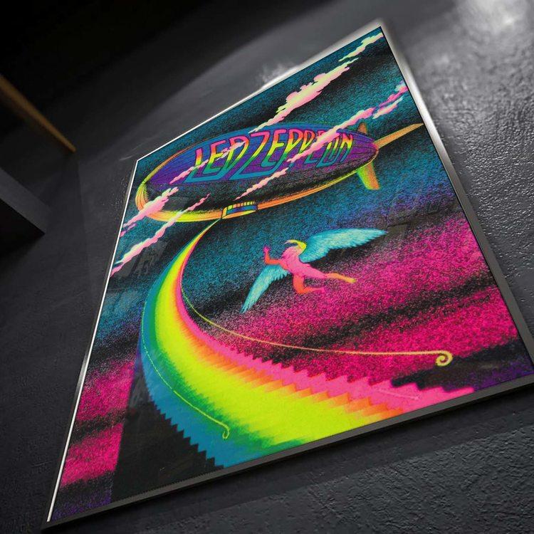 [HD]Постер Led Zeppelin - Rainbow