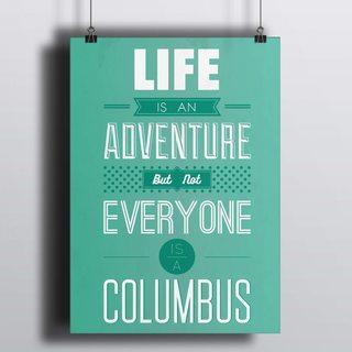 Постер Жизнь Это Приключение