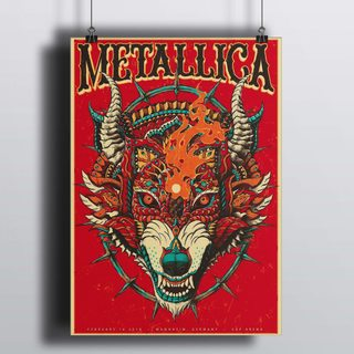 [HD]Постер Metallica