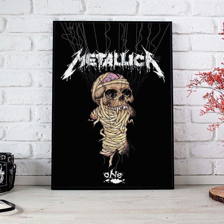 [HD]Постер Metallica - Skeleton