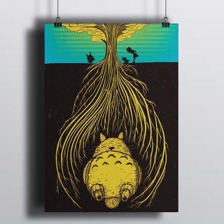 Постер Мой Сосед Тоторо - Дерево