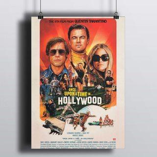 [HD] Постер Однажды В Голливуде - 2019