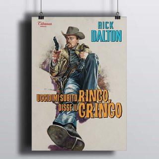 [HD] Постер Однажды В Голливуде - Рик Далтон