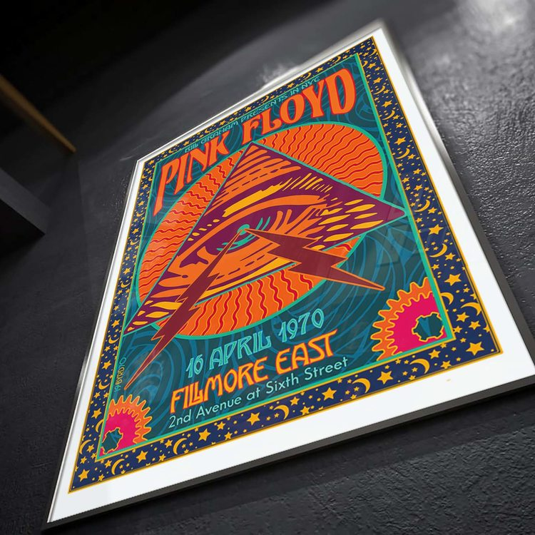 [HD]Постер Pink Floyd