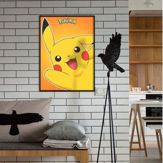 Постер покемон Пикачу