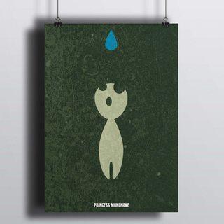 Постер Принцесса Мононоке