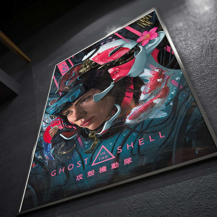 Постер Призрак В Доспехах Маска