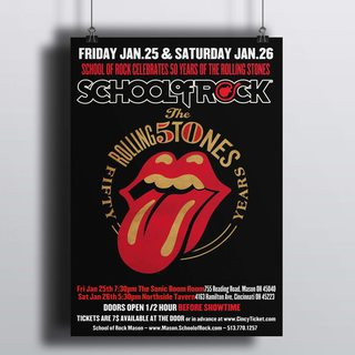[HD]Постер Roling Stones