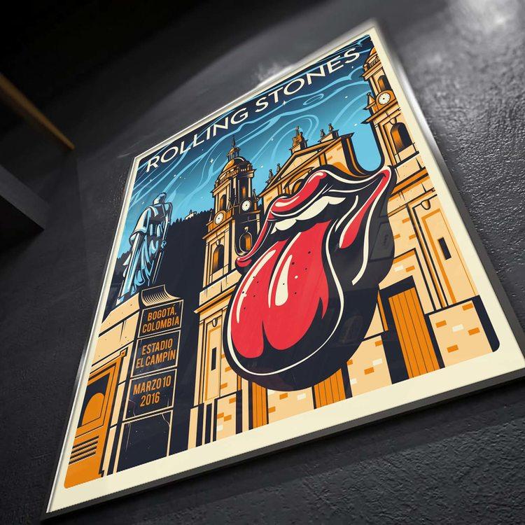 [HD]Постер Roling Stones - Big Ban