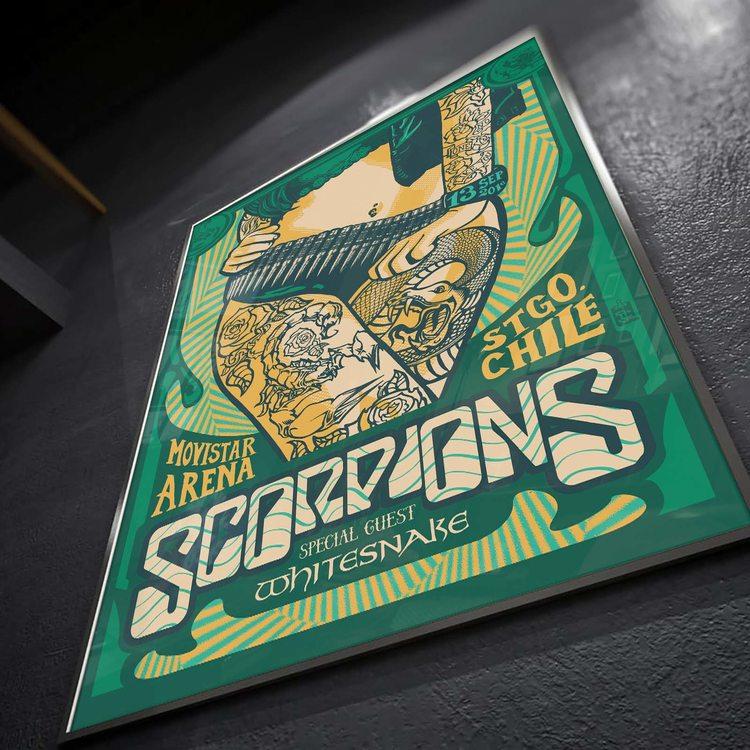 [HD]Постер Scorpions