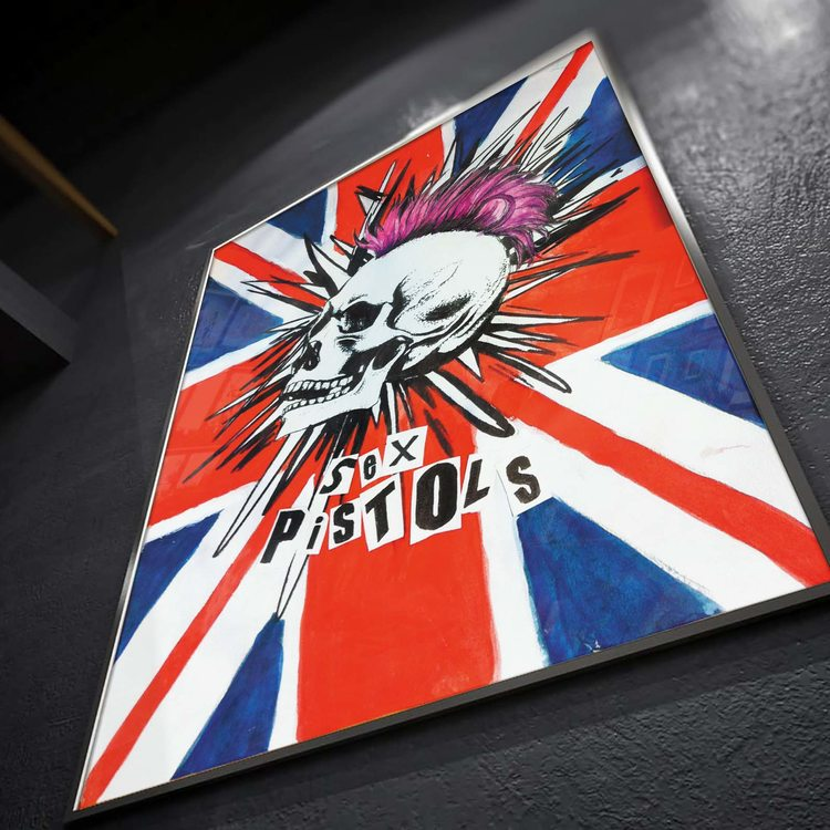 [HD]Постер Sex Pistols