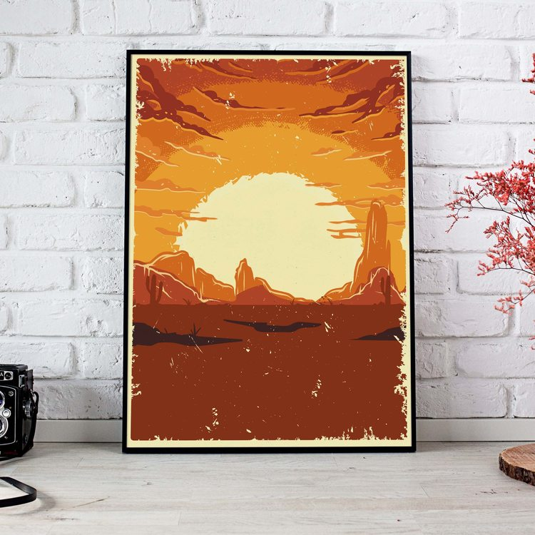 [HD] Постер Солнце Пустыни