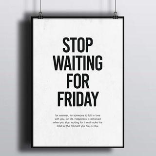 Постер Хватит Ждать Пятницы