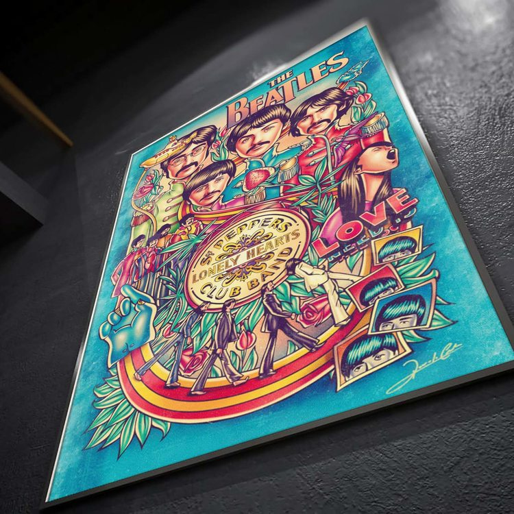 [HD]Постер The Beatles